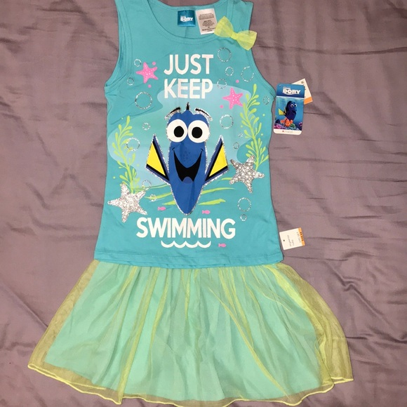5322150fca Disney Matching Sets | S Finding Dory 2 Piece Skort Set | Poshmark